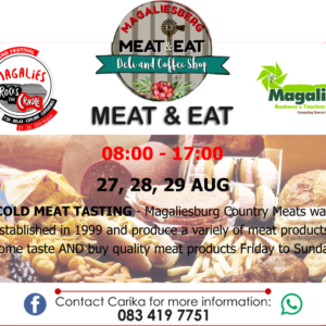 Cold Meat Tasting
